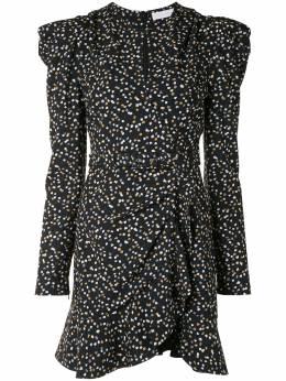 Jonathan Simkhai платье мини в мелкую точку 5201064X