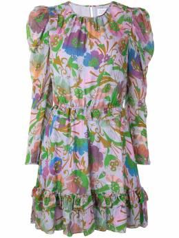 Tanya Taylor платье с цветочным принтом F20D66A163