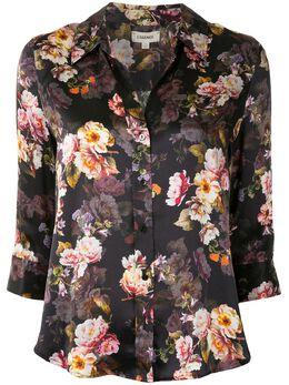 L'Agence рубашка с цветочным принтом 40126MRS