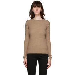 Rag&Bone Beige Merino Emory Sweater WAS20FS011XG11