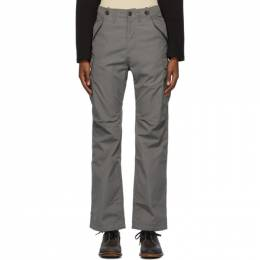 Visvim Grey Jumbo Eiger Sanction Cargo Pants 0120205008011