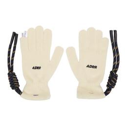 Ader Error Off-White Crumple Gloves BTAFWAC03IV