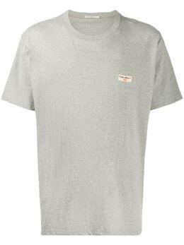 Nudie Jeans футболка с нашивкой 131613B04DANIEL