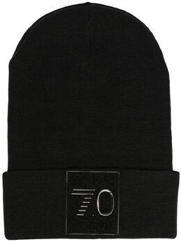 Ea7 шапка бини с вышитым логотипом 2759560A119