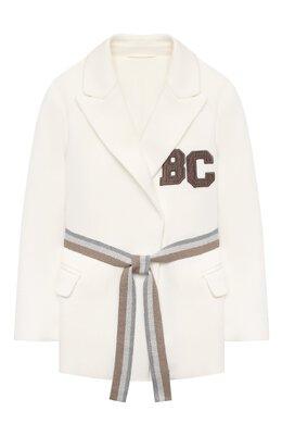 Хлопковый пиджак Brunello Cucinelli BF570K005A