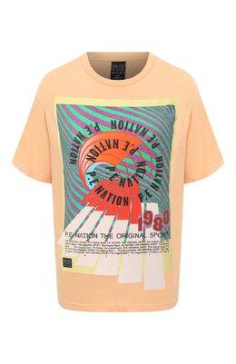 Хлопковая футболка P.E Nation 20PE2T025