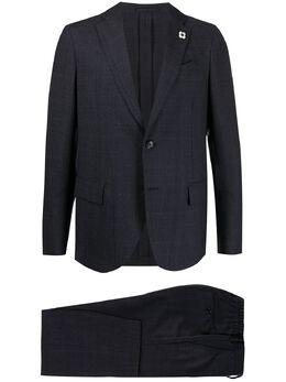 Lardini клетчатый костюм-двойка IMO38AVIMEW55706