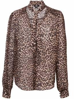 Paige leopard print blouse 4642D966038