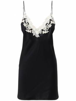 Платье Из Шёлка И Кружева La Perla 72IY17008-MDIwMg2