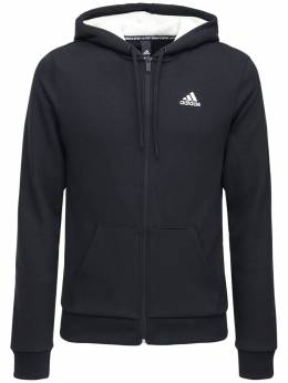 Худи Winter Fleece 3 Stripe Adidas Performance 72IGZQ078-QkxBQ0s1