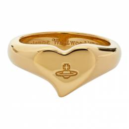 Vivienne Westwood Gold Marybelle Signet Ring 64040061-R001
