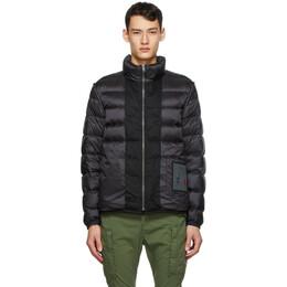 Ten C Reversible Black Down Liner Jacket 20CTCUD03113 2197