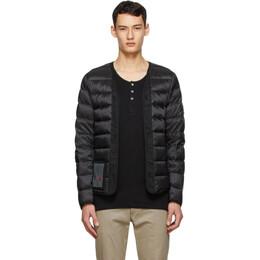 Ten C Black Down Open Liner Jacket 16CTCUD03009 2197