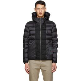 Ten C Reversible Black Down Hooded Liner Jacket 18CTCUD03103 2197