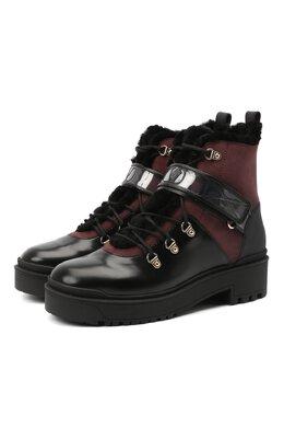 Кожаные ботинки Valentino Garavani Trekkgirl Valentino UW2S0Y97/KVN