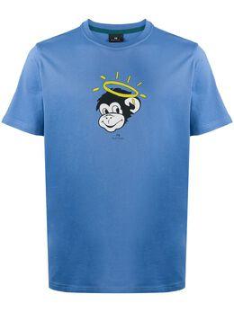 Ps by Paul Smith футболка с принтом Angel Monkey M2R011REP2191