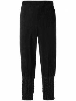 Issey Miyake Men creased tapered trousers ME88FF235