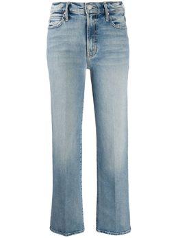 Mother джинсы прямого кроя 10065844