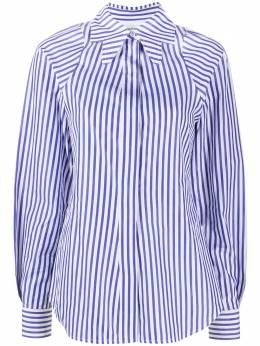 Victoria Beckham полосатая рубашка с воротником 1420WSH001967B
