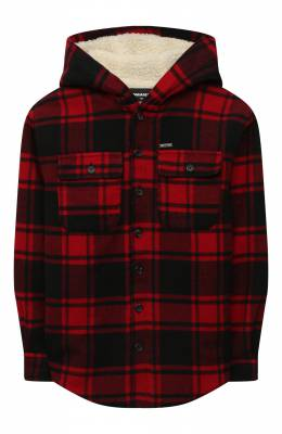 Хлопковая куртка-рубашка Dsquared2 DQ0487-D00ZT