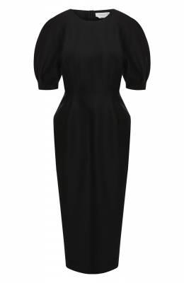 Платье из шерсти и шелка Gabriela Hearst 120411 W048