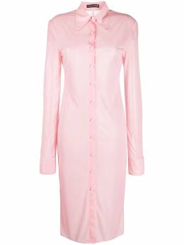 Kwaidan Editions платье-рубашка узкого кроя AW20WD032WLPJ