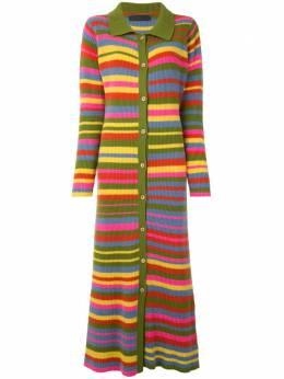 The Elder Statesman платье-рубашка в полоску 200193