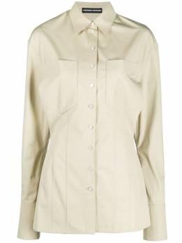 Kwaidan Editions рубашка с накладными карманами AW20WT041WCS