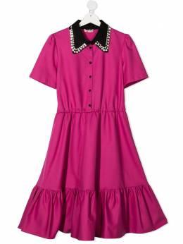 No.21 Kids платье миди на пуговицах N214BHN0086