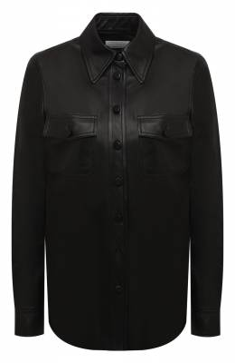Кожаная рубашка Gabriela Hearst 120128 L001