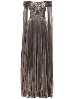 Длинное Платье С Люрексом Zuhair Murad 72I0HI011-TVMwMDAx0