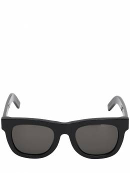 Ciccio Black Acetate Sunglasses Retrosuperfuture 70IG2O016-SjZD0