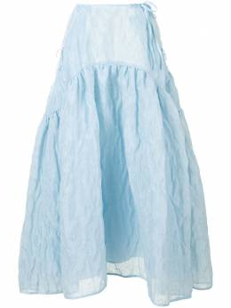 Cecilie Bahnsen юбка Lilly AW200024LILLYSKIRT