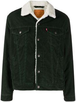 Levi's куртка Trucker с оторочкой из шерпы 16365G