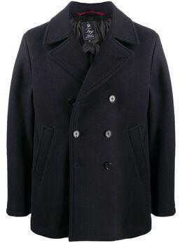 Fay двубортное пальто NAM0741069JSEI1910