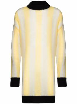 Sunnei длинный свитер в полоску LS01
