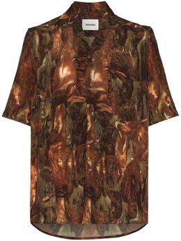Nanushka рубашка Ville Amfora NM20FWSH01477