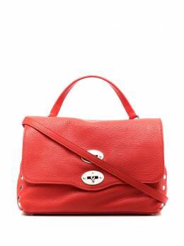 Zanellato сумка-тоут из зернистой кожи 612018