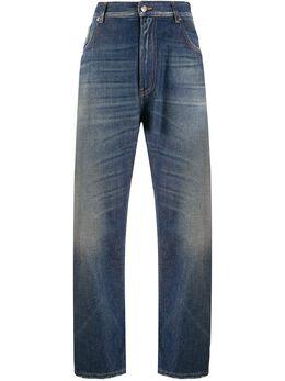 Mm6 Maison Margiela джинсы широкого кроя S32LA0227S30460