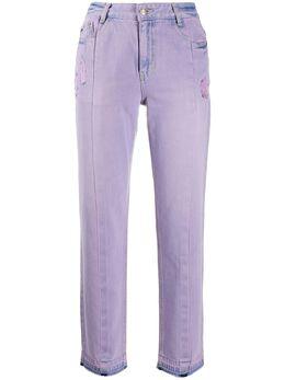 Sjyp укороченные джинсы с завышенной талией PW2A1NPC109W