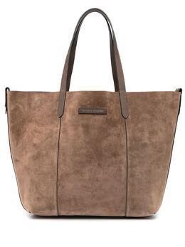 Brunello Cucinelli двусторонняя сумка-тоут MBRVD2102C7891