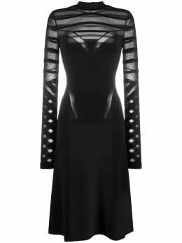 Wolford полупрозрачное платье Logan 55577