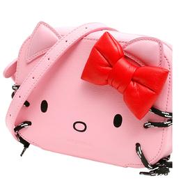 Balenciaga Pink Leather Xs Hello Kitty Camera Bag 337984
