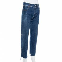 Vetements Blue Denim Reworked Push Up Jeans S 339292