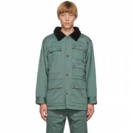 Vyner Articles Blue Cotton Cargo Worker Jacket 2A184000