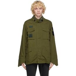 Sankuanz Green Military Jacket SKZM20AW0JA0501-GR