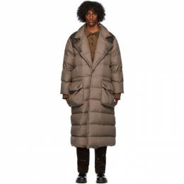 Phipps Brown Recycled Down Puffer Coat PHFW20-J17