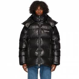 Axel Arigato Black Down Nunatak Puffer Jacket 15315