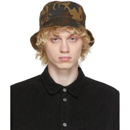Wood Wood Khaki Camo Bucket Hat 12030802-7083