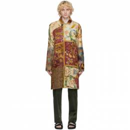 By Walid Multicolor Ecclesiastical Panel Rufus Coat 270093M